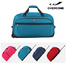 Outdoor international travel bags with trolley sleeve wholesale luggage trolley bags