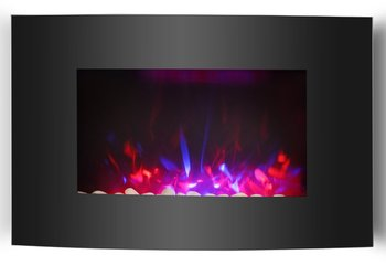 RED&Blue LED Flame Electric Fireplace
