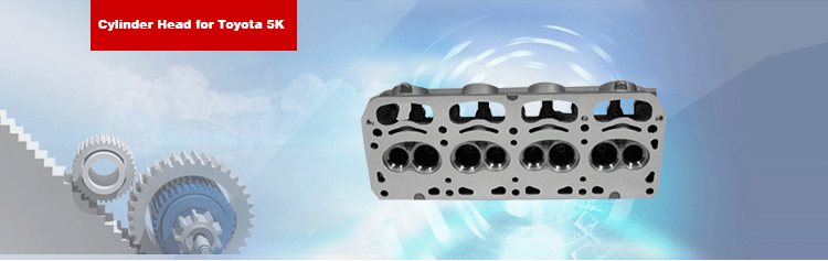 5K Cylinder Head 11101-13062 for Toyota LITEACE Bus Engine