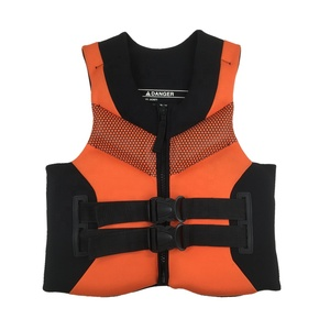 Neoprene Life Vest Jacket with Front Zipper for Adult