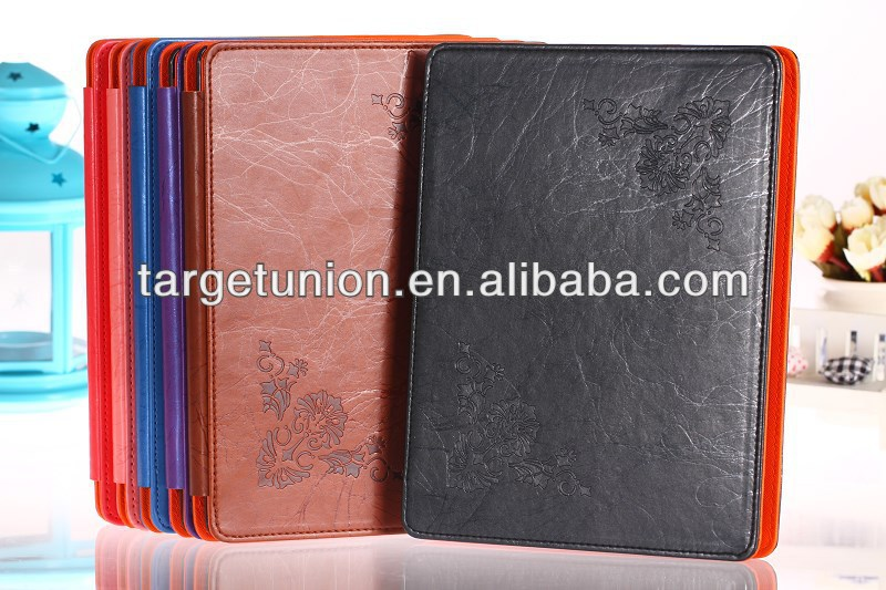hot sale for Apple Ipad 2 3 4 leather case