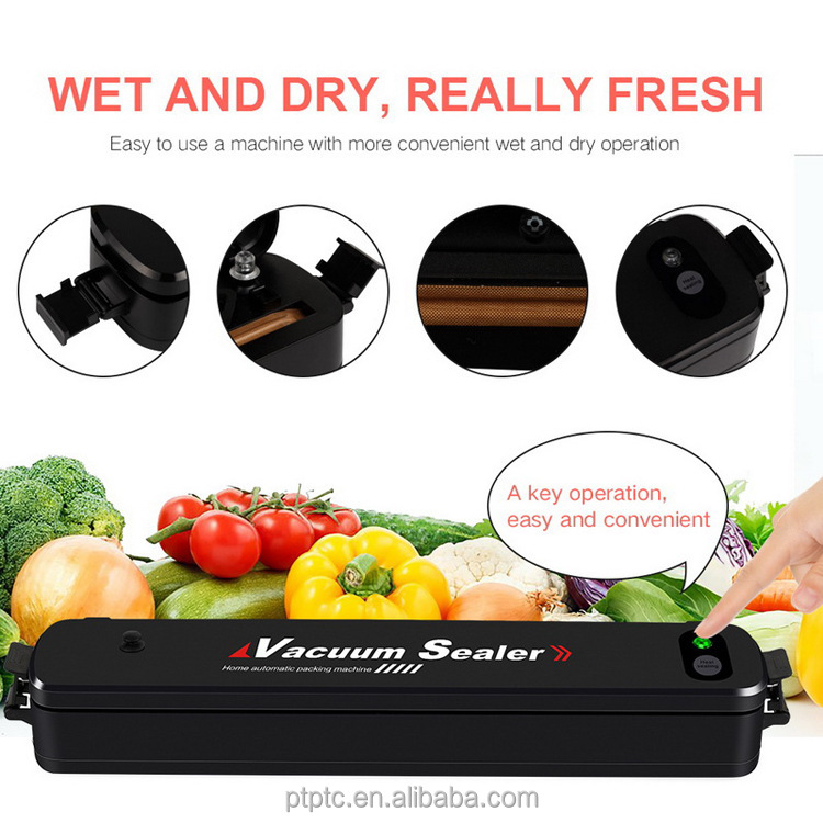 2018 Best sales price handy mini vacuum packing machine sealing machine for food vegetables fruit home stores