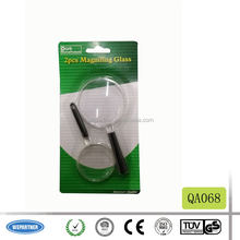 QA068 2PCS Magnifying Glass Set