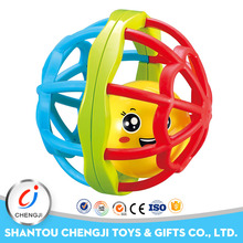 2017 New arrival Educational plastic ball bendy toys for baby