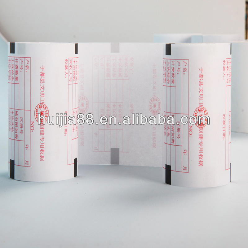 sales various sizes receipt sample