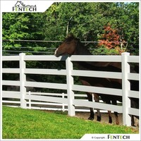 Easily Assembled Virgin PVC Used Horse Fence Panels