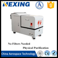 China Aerospace Tech Change black oil to yellow Machine Refined Used Oil Engine