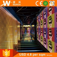 [S1-00201] Beautiful Modern Wall Paper Photo 3D Wallpaper Mural for Commercial