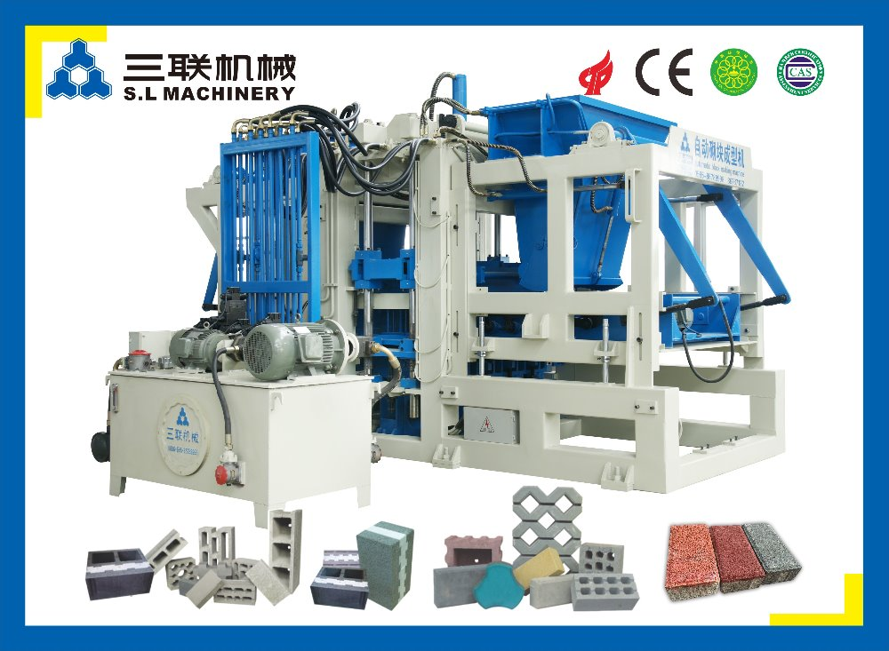 Automatic concrete hollow block making machine in philippines