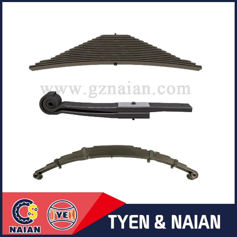Naian auto parts supplying high quality light truck spring parabolic leaf spring