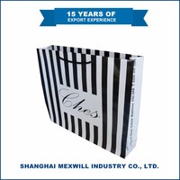 New design High Quality luxury paper shopping bag