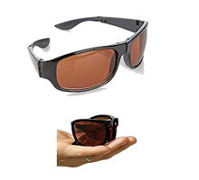 As seen on TV HD Vision Fold Aways High Definition Sunglasses Deluxe