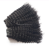 Full cuticle brazilian hair weave kinky curly wave 100% human remy virgin hair
