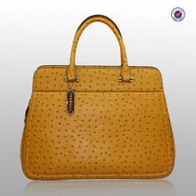 Guangzhou Handbag Factory Produce Women Ostrich Leather Bags