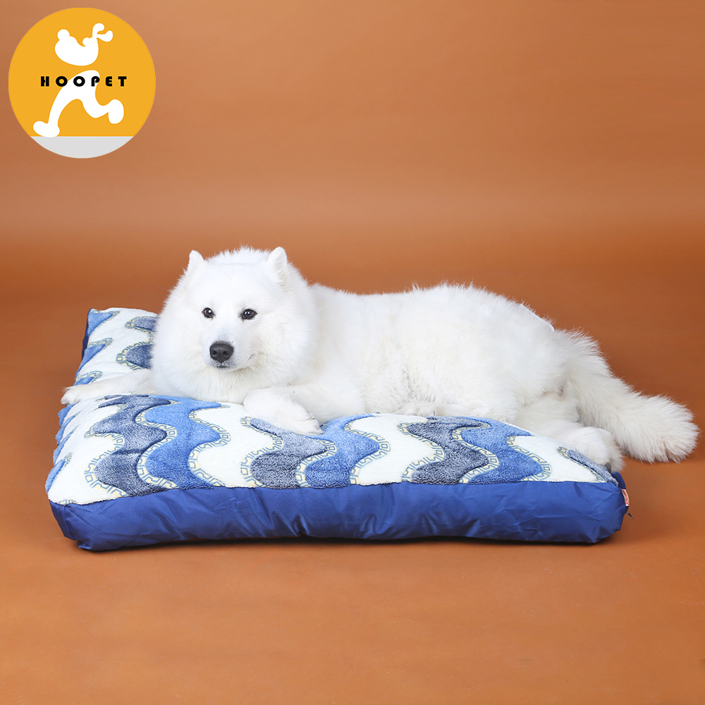 Colorful Flat Beautiful Hot Selling Dog Bed Removable Cover