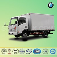 Sinotruk CDW diesel Euro-II 122Hp used 5 ton chinese food truck for sale