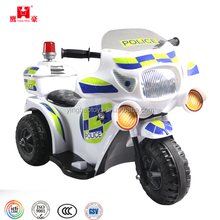 Good Quality Rechargeble Battery Operated 3 Wheels Police Ride On Toys Motorbike