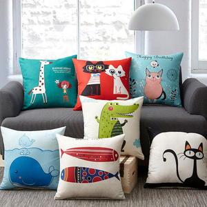 Factory direct sale custom pillow with any picture, custom anime cushion
