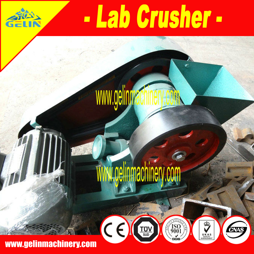 2016 gold testing equipment / small mobile crusher for laboratory assays use