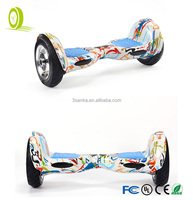 10 inch big wheels off road eletric balance scooter with bluetooth