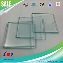 19mm clear temper glass for building
