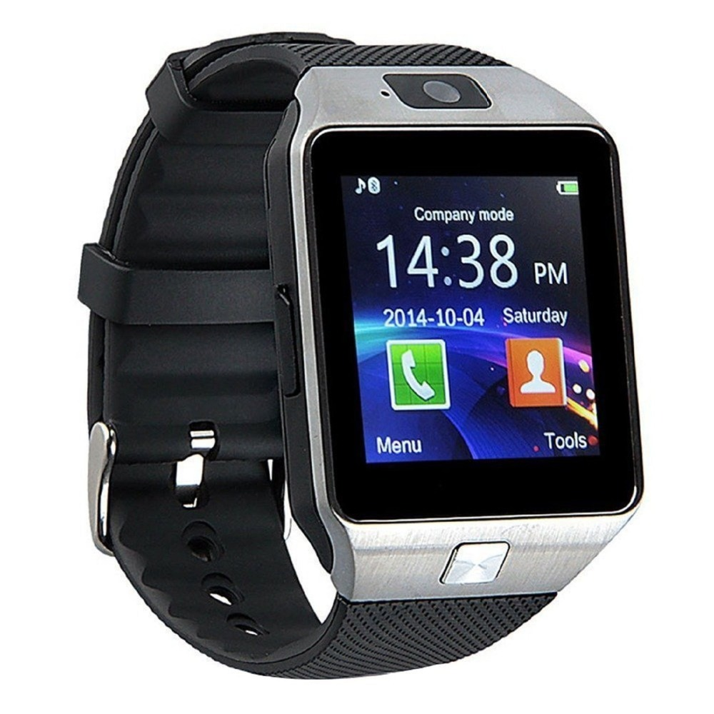 Wifi bluetooth dz09 watch mobile phone android smart watch with camera