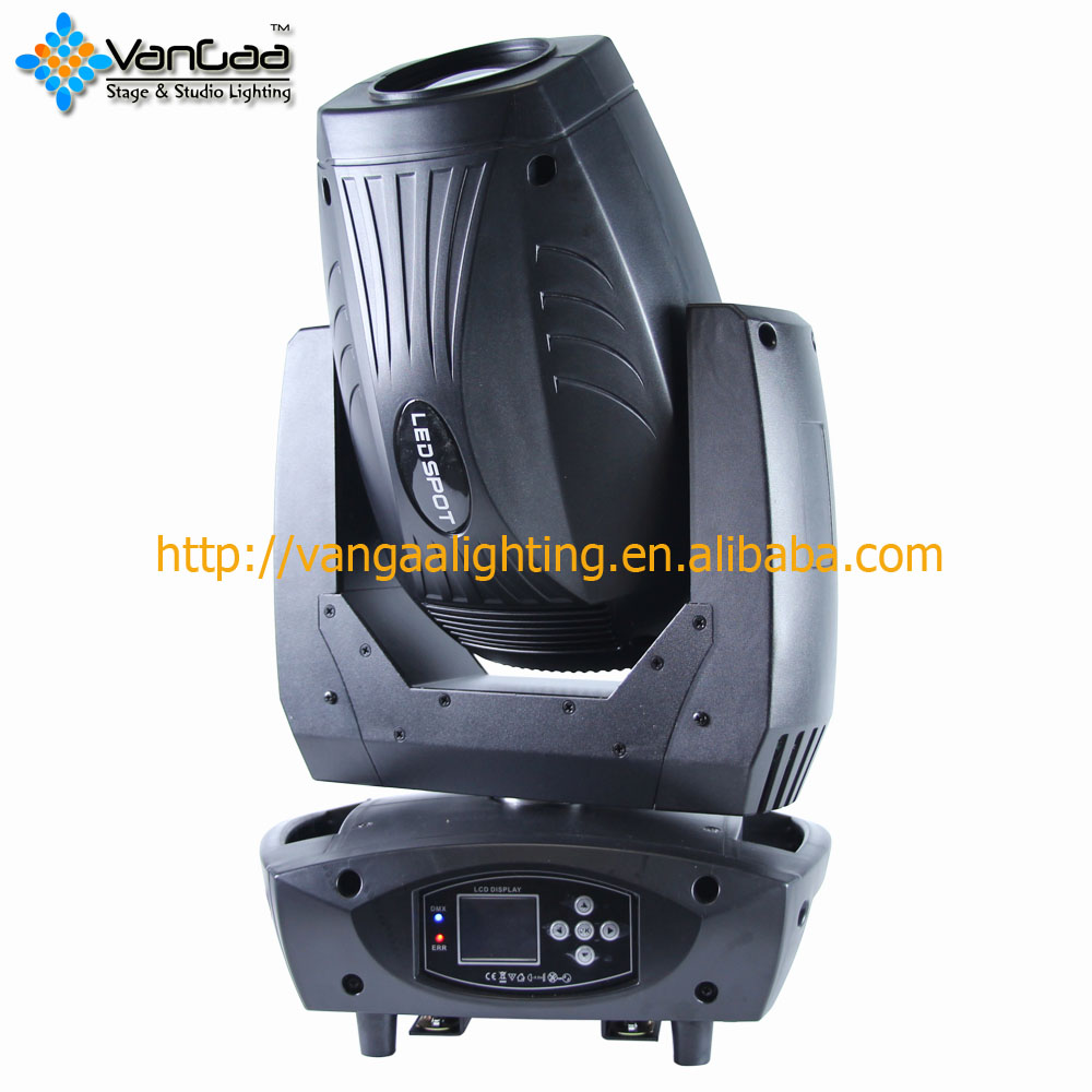 VanGaa Lighting Factory 200W LED Spot Beam Wash 3in1 Moving Head Light