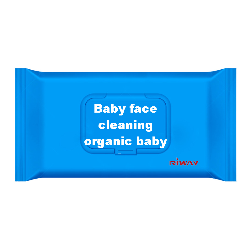Baby face cleaning organic baby wipes