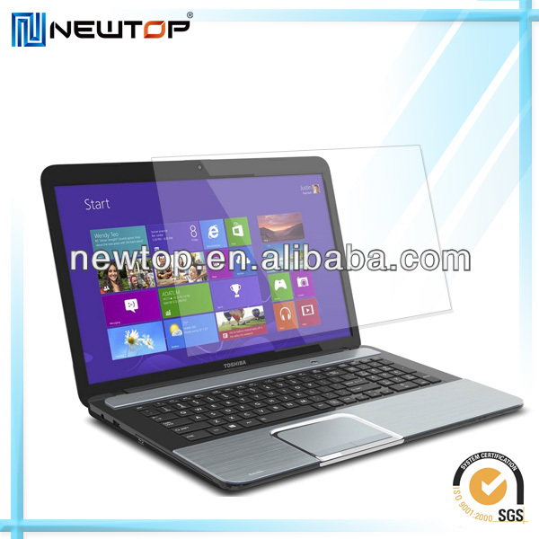High quality 14 inch transparent laptop screen protector
