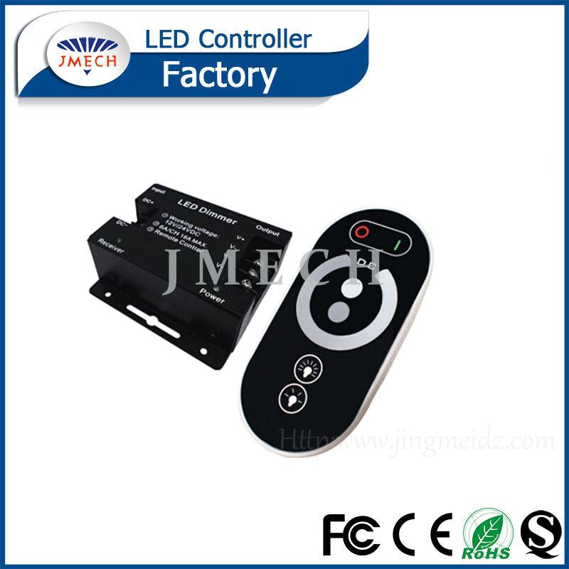 DC 12 V/24V RF LED Touch Dimmer for the Single Color LED Strips, Modules