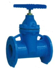 DIN 3352 F5 Non rising stem resilient soft seated gate valve