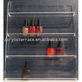 Acrylic Nail Polish Display Rack Wall Mount