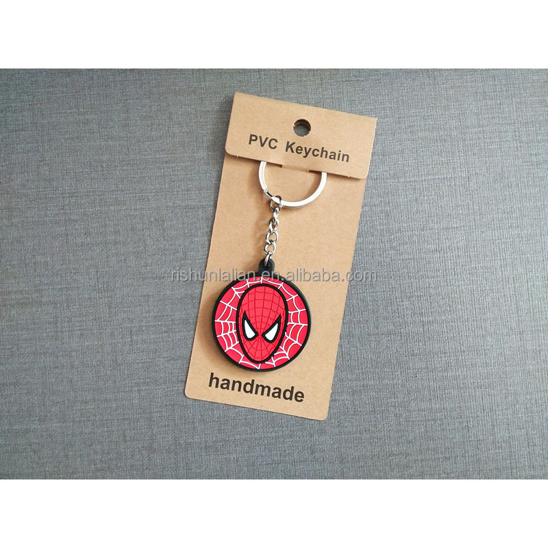 Custom Logo on Rubber Plastic PVC Mobile Phone Key Chain for Promotion Gifts Fashion Accessories