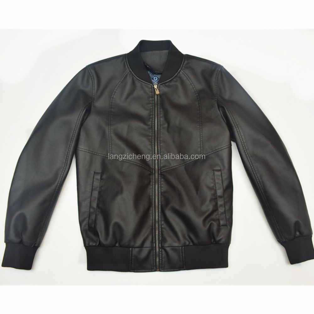 <strong>Manufacturers</strong> 2016 Autumn And Winter Fashion coats pu leather jacket men