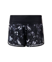 2016 latest design ladies fitness sublimation spandex gym wear wholesale shorts for women