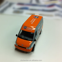 diecast metal high quality ford transit van model