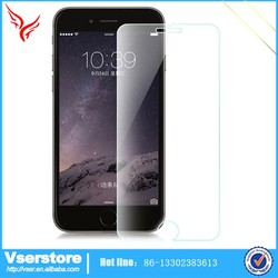Transparent screen protector for iPhone 4.7 inch clear 9H tempered glass screen protector for iPhone 6