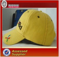 Hotsale fashional 3d embroidery baseball cap with adjustable velcro