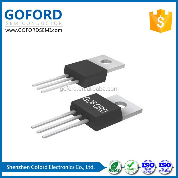 transistor fet e mosfet 6N70A 700V 6A N-Channel T-220 Enhancement Mode Field Effect Transistor