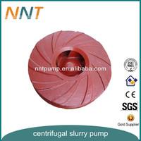 Mining Vertical Sump Slurry Submersible Pump Impeller