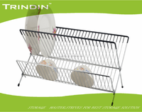 Three tiers dish rack/dish drainer holder /3 tier shelf