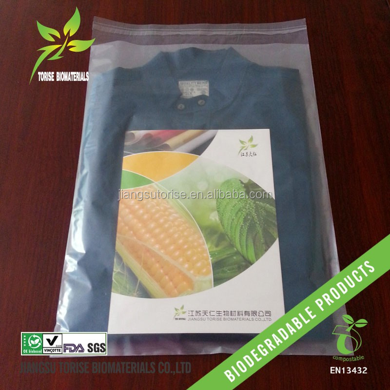 biodegradable plastic garment packing bag