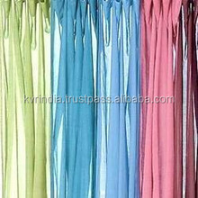 voile fabric for home decoration