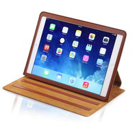 Luxury Stand PU Leather Cover Protective Case For Ipad Air 9.7 inch