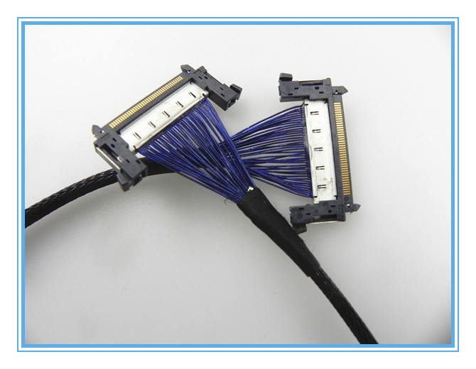 20 way IDC simple wire harness cable