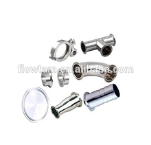 stainless steel food grade pipe connect tri clamp fittings