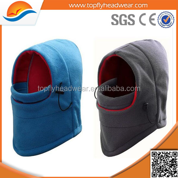 Sport Outdoor Camping Hiking Cap Masked Warm Winter Hat for Men and Women Winter Warm polar fleece multifunctional bandana