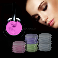 Foundation,Blush,Eye Shadow Type Transparent Silicone Gel Makeup Silicone Jelly Powder Puff HA01801