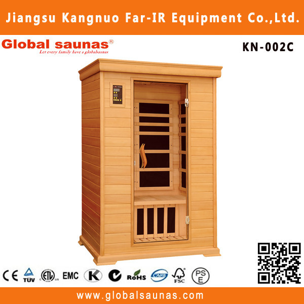 health care pruductscarbon far infrared sauna with led light KN-002C