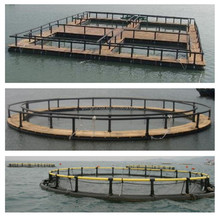 manufacture plastic fish farming cage for tank fish feed system